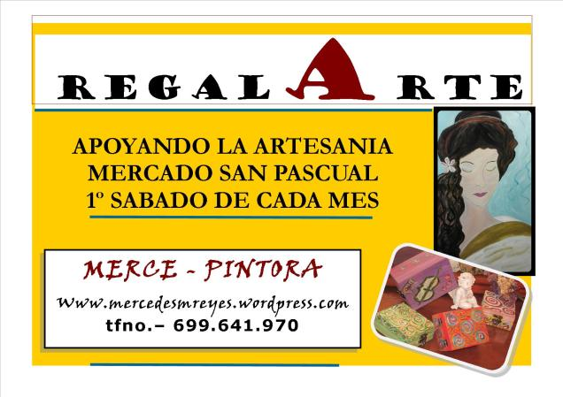 MERCE EN SAN PASCUAL CARTEL REGALARTE